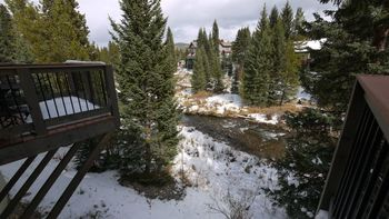River view at SkyRun Vacation Rentals - Breckenridge, Colorado.