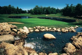 Golf at Grand Hotel.