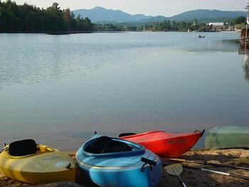 Kayak, canoe and much more at Lake Placid