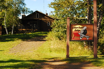 Main lodge at Golden Eagle Lodge.