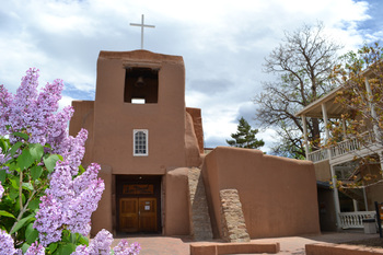 San Miguel Mission Chapel near The Lodge at Santa Fe.
