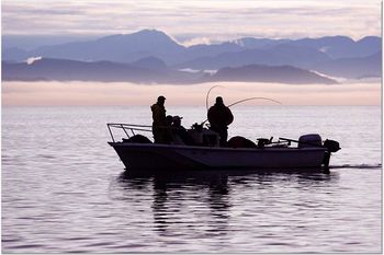 Fishing at Blackfish Lodge