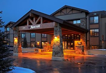 Exterior view of Park City Marriott.