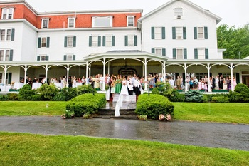 Wedding at Winter Clove Inn.