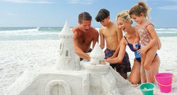 Sandcastles by the Water at Beachcomber by the Sea