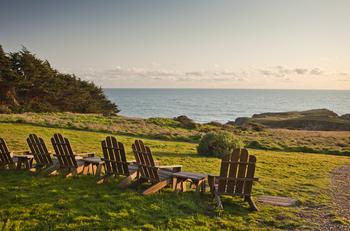 Relaxing at Sea Ranch Lodge.