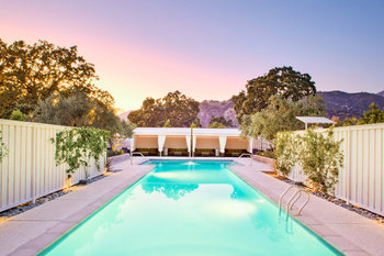 Outdoor Pool at Solage Calistoga