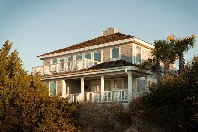 Vacation rental at Bald Head Island.