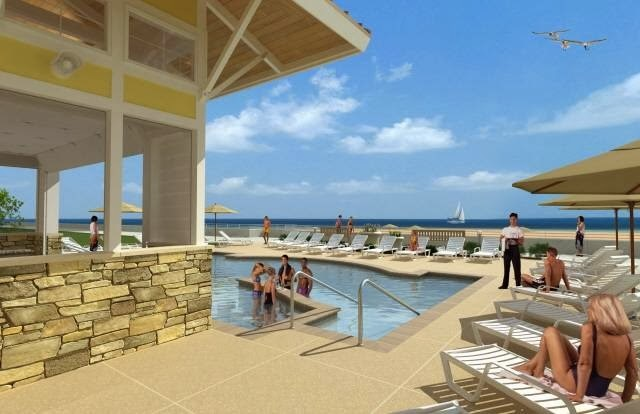 Rental pool at Sanctuary Realty At Sandbridge.