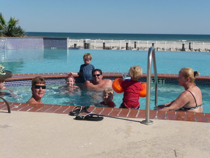Family gatherings at Pointe West Properties.