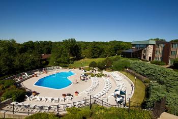 Outdoor pool at Geneva National Resort.