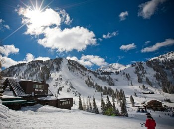 Ski hotel located at the base of Alta Ski Area in Alta, Utah.