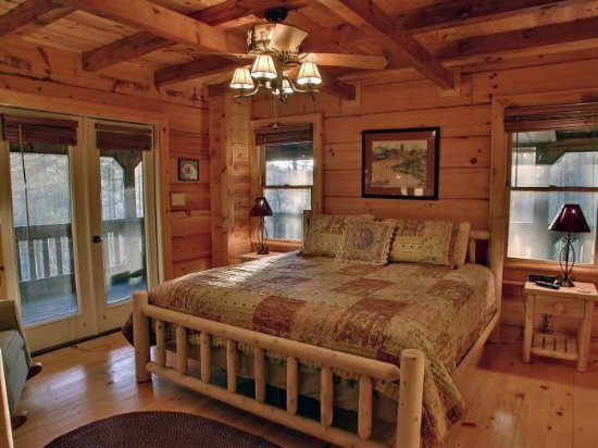 Blue Ridge Vacation Rentals Cabin 3 Bedroom Cabin In A Secluded Forest Location Near Blue