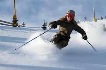 Skiing at Blue Sky Breckenridge.