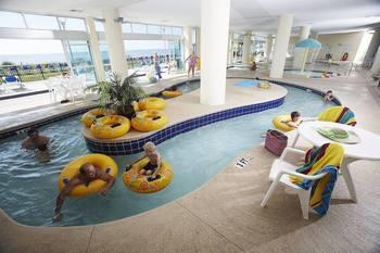 Lazy river at Bay View Resort.