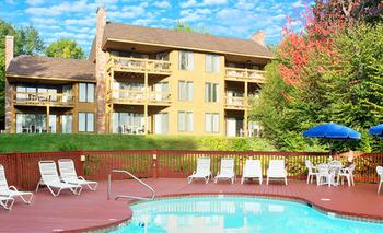 Exterior view of Summit Resort.