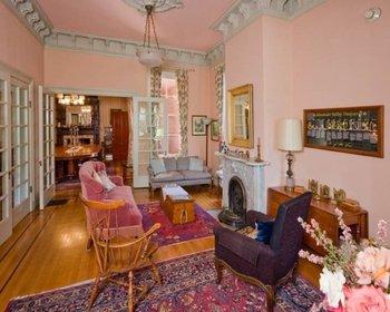 Interior view at Camellia Inn.