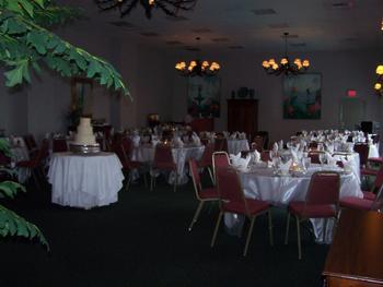 Wedding reception at Long Bay Resort.