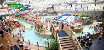 The Pump House Water Park near English Rose Inn.