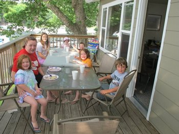 Family Gatherings at Point Randall Resort