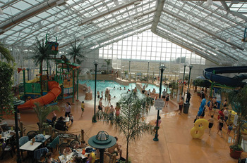 Indoor Water Park at Americana Conference Resort