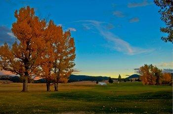 Scenic views at Fairmont Hot Springs Resort.