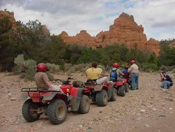 ATV Tour at Stone Canyon Inn