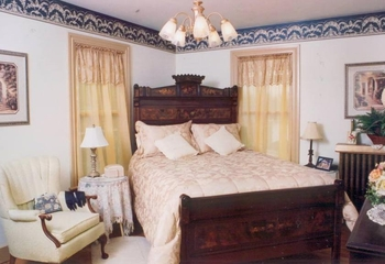 Guest room at Filbert Bed & Breakfast.