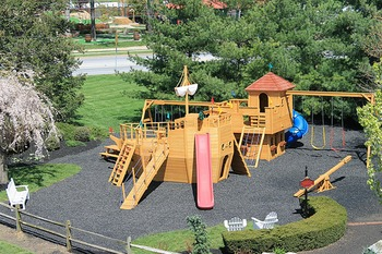 Kids Playground at Fulton Steamboat Inn