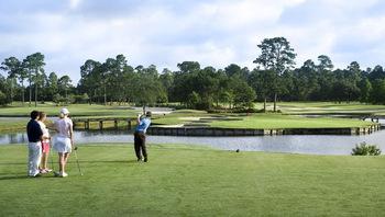 Golf course near Paradise Resort.