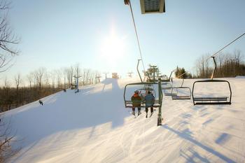 Nub's Nob Ski near @ Michigan Inn and Lodge.