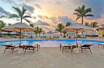 Outdoor pool at Royal Hideaway Playacar.