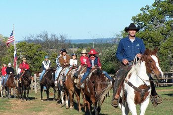 Horseback Riding at Twin Elm Ranch