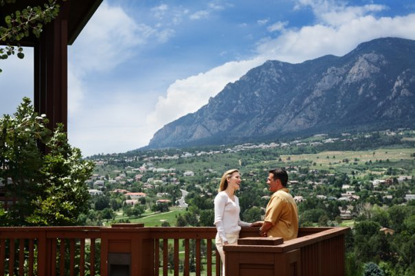 Scenic view at Cheyenne Mountain Resort.
