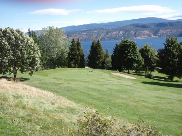 Golf course at Lake Okanagan Resort.