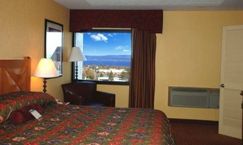 Guest room at Odawa Casino Resort.