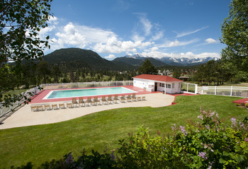 Outdoor Pool at The Stanley Hotel