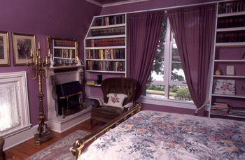 Guest room at Eleven Gables Inn.