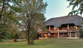 Exterior view of Mowana Safari Lodge.