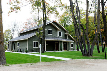 Exterior view at East Silent Lake Vacation Homes.