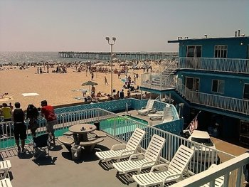 Beach view at Sea Sprite.