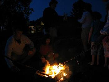 Campfires at Bald Mountain Camps Resort