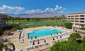 Outdoor pool at Doral Desert Princess Resort and Spa.