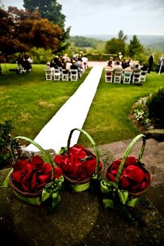 Outdoor Wedding at The French Manor Inn