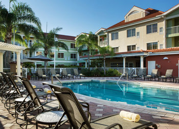 Outdoor Swimming Pool at DoubleTree Suites by Hilton Hotel Naples