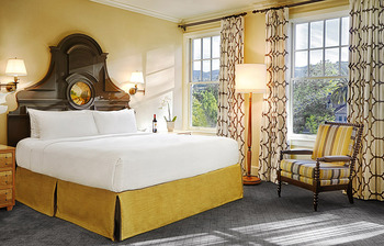 Guest room at The Fairmont Sonoma Mission Inn & Spa.