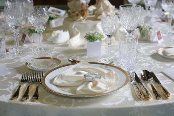 Wedding reception at The Best Western Abbey Inn Hotel.