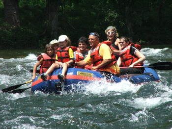 Whitewater Rafting at Chetola Mountain Resort