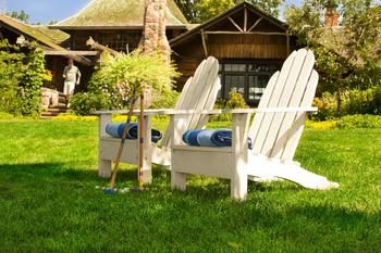 Relax at Stout's Island Lodge.