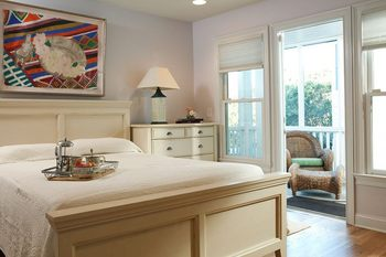 Guest room at Bald Head Island.